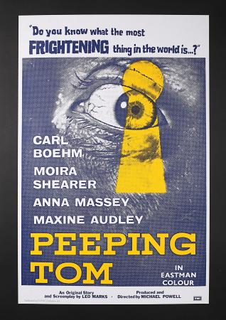 PEEPING TOM (1960) - UK One-Sheet Poster