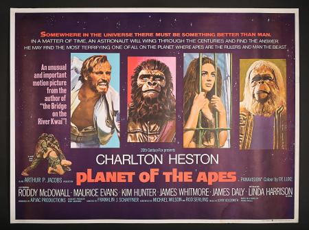 PLANET OF THE APES (1968) - UK Quad Printer's Proof Poster