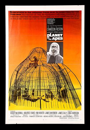PLANET OF THE APES (1968) - US One-Sheet Poster