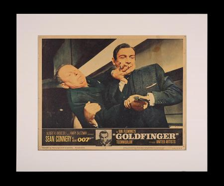 JAMES BOND: GOLDFINGER (1964) - US Lobby Card