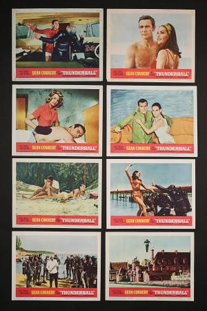 JAMES BOND: THUNDERBALL (1965) - US Lobby Card Set