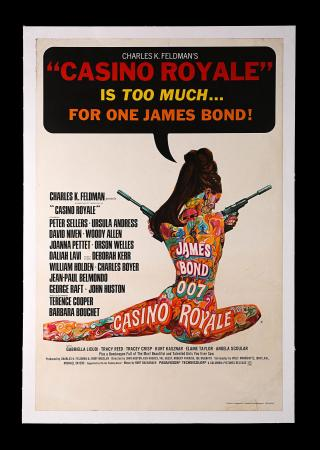 JAMES BOND: CASINO ROYALE (1967) - UK Double Crown Poster
