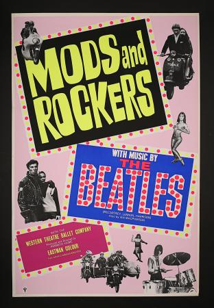 MODS AND ROCKERS (1965) - UK One-Sheet Poster