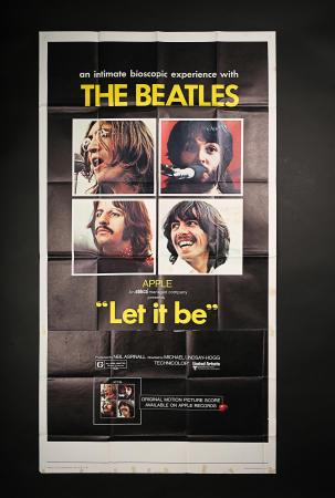LET IT BE (1970) - US Three-Sheet Poster