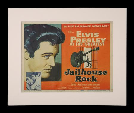 JAILHOUSE ROCK (1957) - US Lobby Card TC