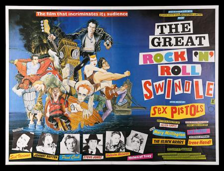 THE GREAT ROCK 'N' ROLL SWINDLE (1980) - UK Quad Poster