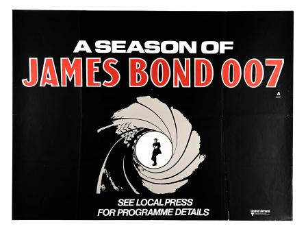 JAMES BOND: A SEASON OF JAMES BOND (1972) - UK Quad Poster