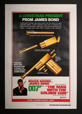 JAMES BOND: THE MAN WITH THE GOLDEN GUN (1974) - US One-Sheet Advance Poster