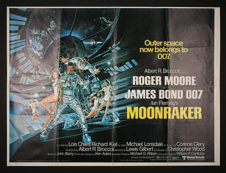 JAMES BOND: MOONRAKER (1979) - UK Quad Printer's Proof Poster