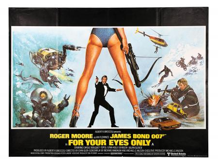 JAMES BOND: FOR YOUR EYES ONLY (1981) - UK Quad Poster