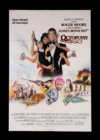 JAMES BOND: OCTOPUSSY (1983) - UK One-Sheet Poster