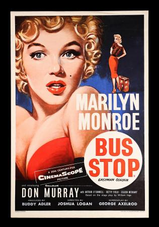 MARILYN MONROE: BUS STOP (1956) - UK Double Crown Poster