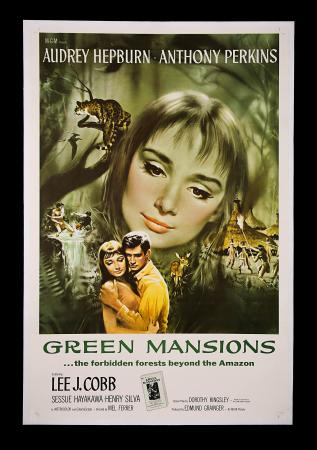 AUDREY HEPBURN: GREEN MANSIONS (1959) - US One-Sheet Poster
