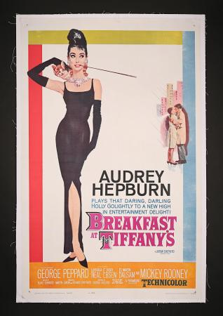 AUDREY HEPBURN: BREAKFAST AT TIFFANY'S (1961) - US One-Sheet