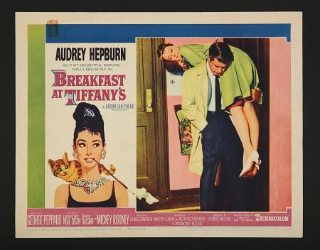 AUDREY HEPBURN: BREAKFAST AT TIFFANY'S (1961) - US Lobby Card