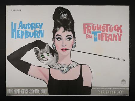 AUDREY HEPBURN: BREAKFAST AT TIFFANY'S (1961) - German A0 Poster