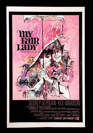 AUDREY HEPBURN: MY FAIR LADY (1964) - US One-Sheet Poster