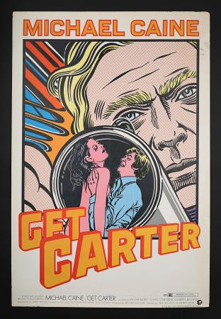 "GET CARTER (1971) - US One-Sheet ""Art Style"" Poster"