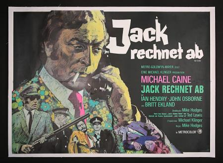 GET CARTER (1971) - German A0 Poster