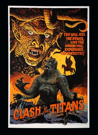 CLASH OF THE TITANS (1981) - Mondo Poster