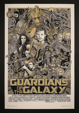 GUARDIANS OF THE GALAXY (2014) - Marvel Cast and Crew Poster