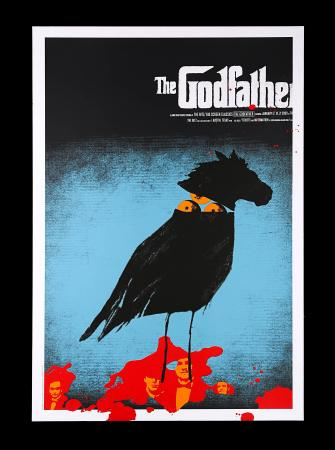 THE GODFATHER (1972) - US Alamo Drafthouse Poster