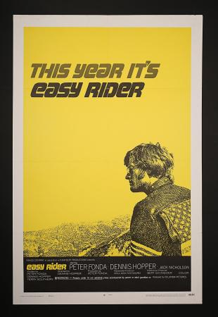 EASY RIDER (1969) - US One-Sheet Style-C Poster