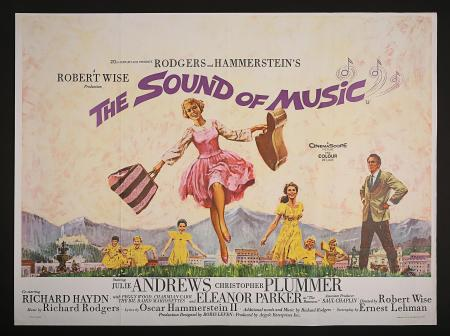 THE SOUND OF MUSIC (1965) - UK Quad Poster