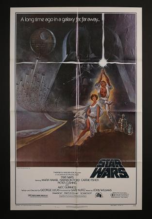 STAR WARS: EPISODE IV: A NEW HOPE (1977) - US One-Sheet Style-A Domestic Poster