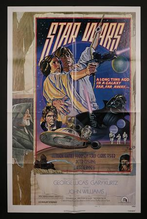 STAR WARS: EPISODE IV: A NEW HOPE (1977) - US One-Sheet Style-D Poster