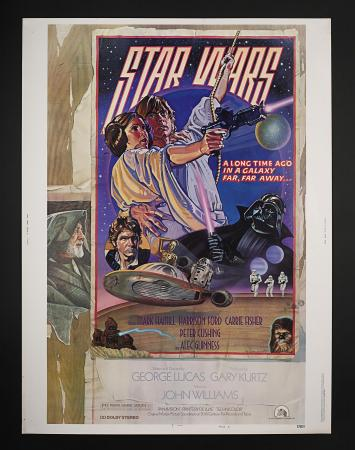 STAR WARS: EPISODE IV: A NEW HOPE (1977) - US 30 x 40 Style-D Poster