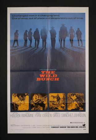 "THE WILD BUNCH (1969) - US One-Sheet ""Domestic"" Poster"