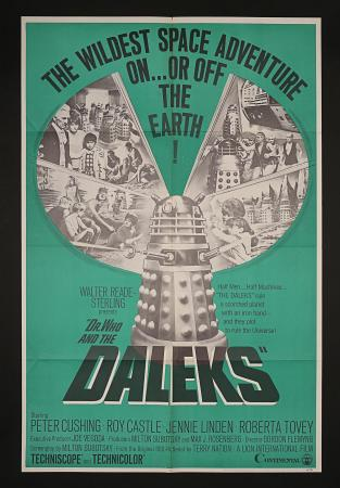 DR WHO AND THE DALEKS (1966) - US One-Sheet Poster