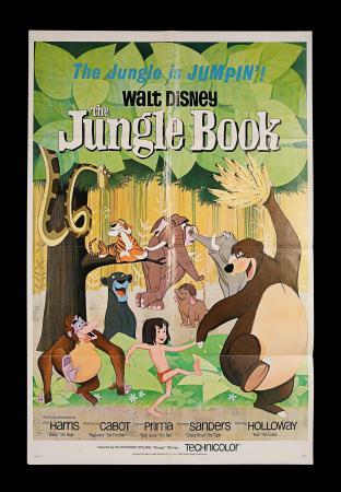 THE JUNGLE BOOK (1967) - US One-Sheet Poster
