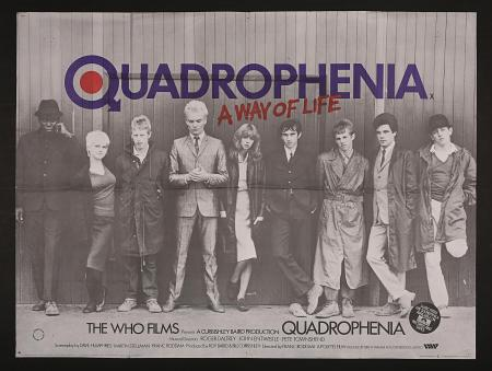 QUADROPHENIA (1979) - UK Quad Poster