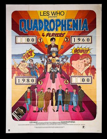 QUADROPHENIA (1979) - French Grand Affiche