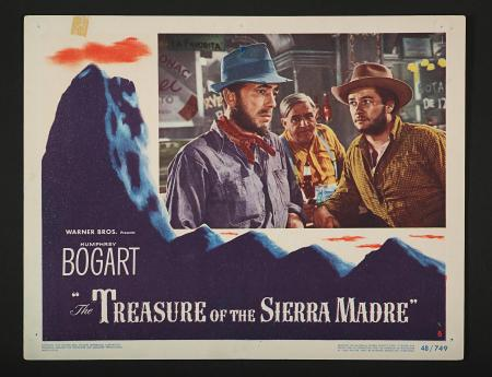 THE TREASURE OF THE SIERRA MADRE (1948) - US Lobby Card