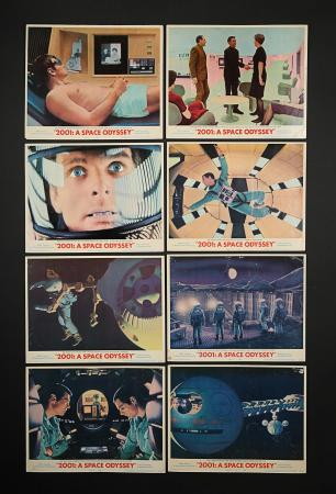 2001: A SPACE ODYSSEY (1968) - Set of Eight US Lobby Cards