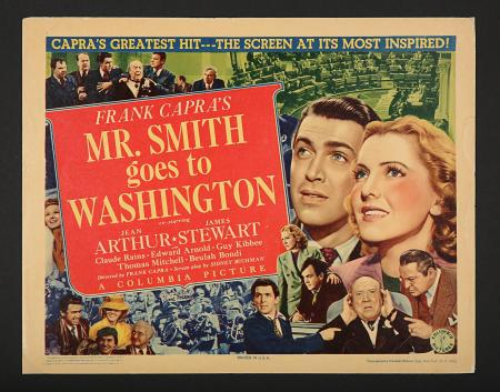 MR SMITH GOES TO WASHINGTON (1939) - US Title Lobby Card