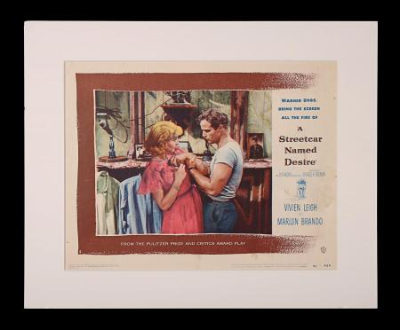 A STREETCAR NAMED DESIRE (1951) - US Lobby Card