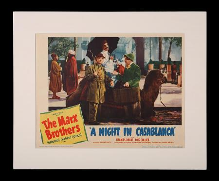 A NIGHT IN CASABLANCA (1946) - US Lobby Card