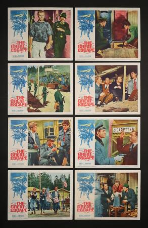 THE GREAT ESCAPE (1963) - US Lobby Card Set