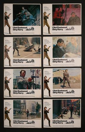 DIRTY HARRY (1971) - US Lobby Card Set