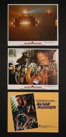 BLADE RUNNER (1982) - Three US Lobby Cards