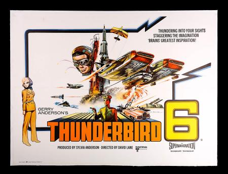 THUNDERBIRD 6 (1968) - UK Quad Poster