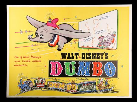 DUMBO (C.1950'S) - UK Quad Poster