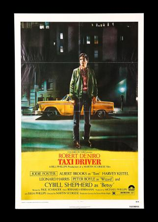 TAXI DRIVER (1976) - US One-Sheet Poster