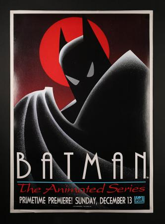 BATMAN: THE ANIMATED SERIES (1992) - US TV Poster