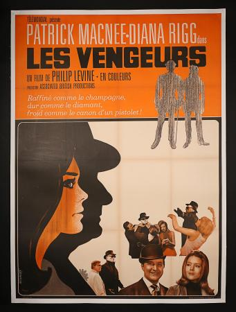 LES VENGEURS AKA THE AVENGERS (1968) - French Grand Affiche