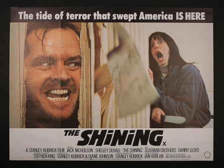 THE SHINING (1980) - UK Quad Poster